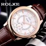 ROLEX-046-04 勞力士進口石英機芯礦物耐磨玻璃男士腕表