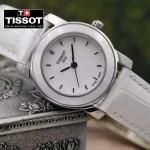 TISSOT-T050 名媛必備日本石英機芯藍寶石水晶玻璃女士腕表