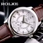 ROLEX-046-02 勞力士進口石英機芯礦物耐磨玻璃男士腕表
