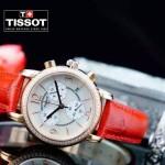 TISSOT-T064-01 名媛必備日本石英機芯藍寶石水晶玻璃女士腕表