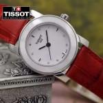 TISSOT-T050-01 名媛必備日本石英機芯藍寶石水晶玻璃女士腕表