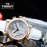 TISSOT-T064-05 名媛必備日本石英機芯藍寶石水晶玻璃女士腕表