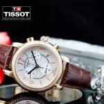 TISSOT-T064-04 名媛必備日本石英機芯藍寶石水晶玻璃女士腕表