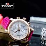 TISSOT-T064-010 名媛必備日本石英機芯藍寶石水晶玻璃女士腕表