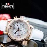 TISSOT-T064 名媛必備日本石英機芯藍寶石水晶玻璃女士腕表