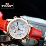 TISSOT-T064-06 名媛必備日本石英機芯藍寶石水晶玻璃女士腕表