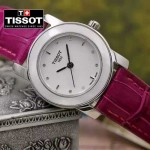 TISSOT-T050-02 名媛必備日本石英機芯藍寶石水晶玻璃女士腕表