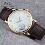 IWC-067 萬國波濤菲諾系列瑞士2824機芯男士腕表