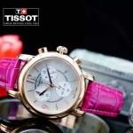TISSOT-T064-09 名媛必備日本石英機芯藍寶石水晶玻璃女士腕表
