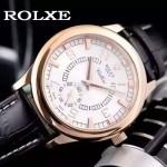ROLEX-046-06 勞力士進口石英機芯礦物耐磨玻璃男士腕表