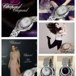 Chopard-034-03 蕭邦香水珠寶範冰冰同款瑞士機芯系列手表