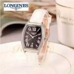Longines-93-010 浪琴典藏系列酒桶形手表經典原裝進口石英機芯女士腕表
