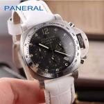 PN1199-9 時尚女士閃亮銀黑底配白色鱷魚紋錶帶進口石英腕錶