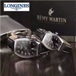 Longines-92-07 浪琴典藏系列酒桶形手表經典原裝進口石英機芯情侶對表