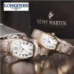 Longines-92-04 浪琴典藏系列酒桶形手表經典原裝進口石英機芯情侶對表