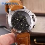 PN1199-11 時尚女士閃亮銀黑底配磨砂牛皮錶帶進口石英腕錶