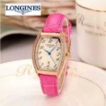 Longines-93 浪琴典藏系列酒桶形手表經典原裝進口石英機芯女士腕表