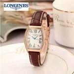 Longines-93-02 浪琴典藏系列酒桶形手表經典原裝進口石英機芯女士腕表