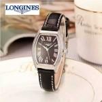 Longines-93-08 浪琴典藏系列酒桶形手表經典原裝進口石英機芯女士腕表