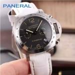 PN1199 時尚女士閃亮銀黑底配白色鱷魚紋錶帶進口石英腕錶