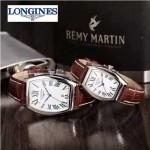 Longines-92-05 浪琴典藏系列酒桶形手表經典原裝進口石英機芯情侶對表
