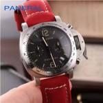 PN1199-3 時尚女士閃亮銀黑底配磨砂牛皮錶帶進口石英腕錶