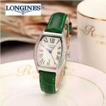 Longines-93-05 浪琴典藏系列酒桶形手表經典原裝進口石英機芯女士腕表