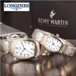 Longines-92-03 浪琴典藏系列酒桶形手表經典原裝進口石英機芯情侶對表