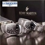 Longines-92-01 浪琴典藏系列酒桶形手表經典原裝進口石英機芯情侶對表