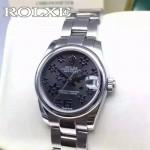 ROLEX-048 勞力士新款女裝日誌型瑞士2824機芯女士腕表
