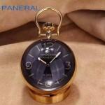 PN1198-3 專櫃限量版RADIOMIR系列PAM00581土豪金小座鐘P5000手動機械腕錶