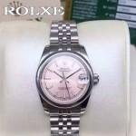 ROLEX-048-01 勞力士新款女裝日誌型瑞士2824機芯女士腕表