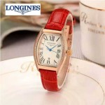 Longines-93-03 浪琴典藏系列酒桶形手表經典原裝進口石英機芯女士腕表