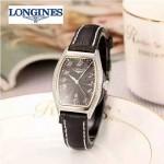 Longines-93-09 浪琴典藏系列酒桶形手表經典原裝進口石英機芯女士腕表