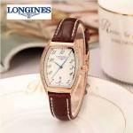 Longines-93-01 浪琴典藏系列酒桶形手表經典原裝進口石英機芯女士腕表
