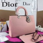 Dior-43-01 名媛必備迪奧VIP高級原版皮定制版意大利小公牛皮手提單肩包
