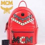 MCM-030 潮流時尚秋冬季最新款紅色限量版雙肩包