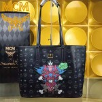 MCM-033-02 潮流時尚新款純手工繡花雙面購物袋