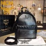MCM-025 潮流時尚新款Munich Lion系列大象紋母子雙肩背包