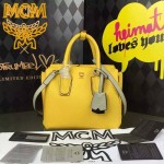 MCM-027-02 潮流時尚新款唐嫣同款原版皮小號手提斜背包