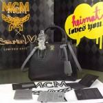 MCM-027-04 潮流時尚新款唐嫣同款原版皮小號手提斜背包