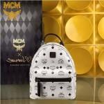 MCM-039-02 潮流時尚新款MCM mini 6釘男女士通用雙肩包