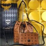 MCM-037-01 潮流時尚新款雙面配色可斜挎肩挎二用水桶包