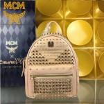 MCM-040 潮流時尚新款M鉆全皮原版玻璃鉆新款雙肩包