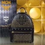 MCM-040-01 潮流時尚新款M鉆全皮原版玻璃鉆新款雙肩包