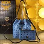 MCM-037-04 潮流時尚新款雙面配色可斜挎肩挎二用水桶包