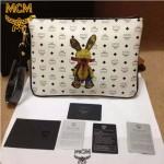 MCM-055-03 人氣熱銷MCM新款兔子系列手拿包