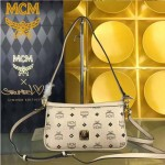 MCM-044-03 人氣熱銷MCM帶釘斜挎肩背晚宴包
