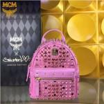 MCM-049-07 潮流時尚MCM新款mini原版玻璃鉆雙肩包