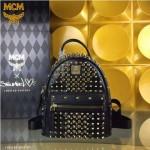 MCM-049 潮流時尚MCM新款mini原版玻璃鉆雙肩包